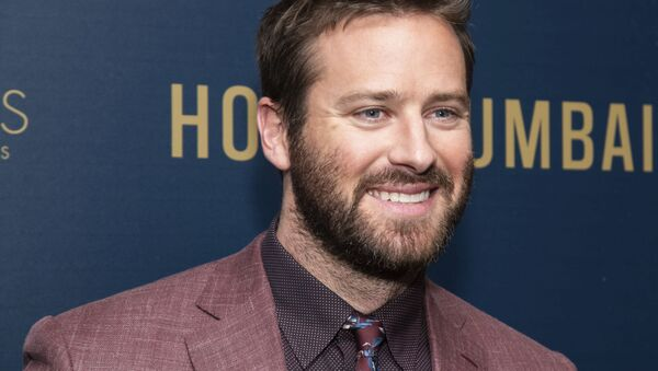 Armie Hammer attends a screening of Hotel Mumbai hosted by Bleecker Street and ShivHans Pictures at the Museum of Modern Art on Sunday, 17 March 2019, in New York - Sputnik International