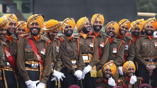Indian army soldiers (File) - Sputnik International