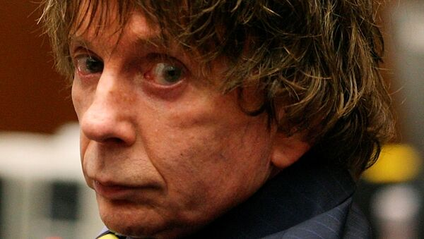 Music producer Phil Spector appears in court during his murder trial at Los Angeles Superior Court in Los Angeles August 16, 2007. Spector is accused of fatally shooting actress Lana Clarkson in his home in February 2003.  - Sputnik International