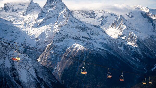 Dombay ski resort - Sputnik International