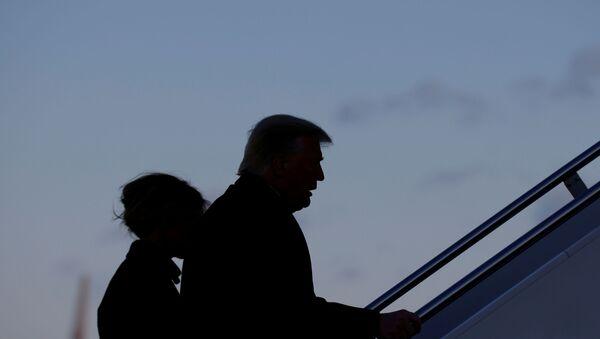 U.S. President Trump departs the Joint Base Andrews, Maryland - Sputnik International