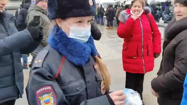 Policewoman in Moscow - Sputnik International