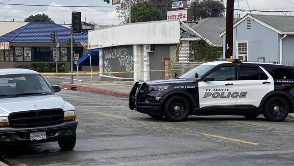 El Monte police investigating an explosion at First Works Baptist Church on Tyler and Elliott on January 23, 2020 - Sputnik International