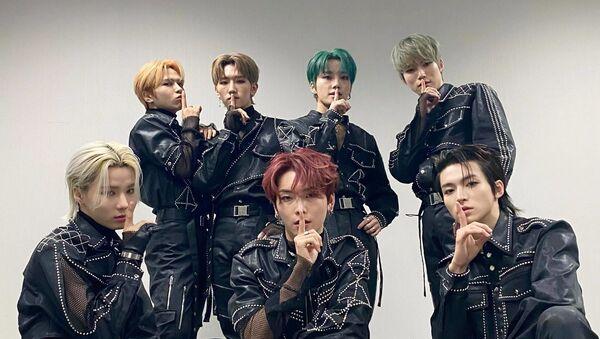 Rookie K-Pop Band E'LAST Drops MV Teaser for a Follow-Up Song - Sputnik International