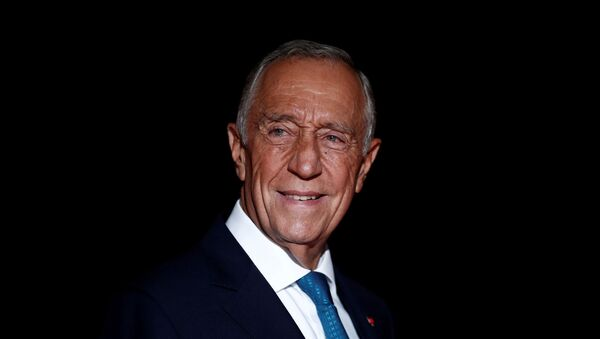 Portugal's President Marcelo Rebelo de Sousa arrives to attend a visit and a dinner at the Orsay Museum on the eve of the commemoration ceremony for Armistice Day, 100 years after the end of the First World War, in Paris, France, November 10, 2018 - Sputnik International