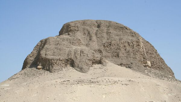 Pyramid of Senusret II - Sputnik International