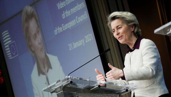 Videoconference of EU leaders to discuss COVID-19 - Sputnik International