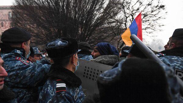 Armenia Protest - Sputnik International