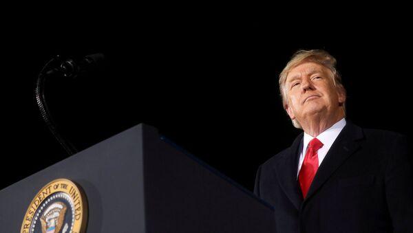 FILE PHOTO: President Trump holds campaign rally in Dalton, Georgia - Sputnik International