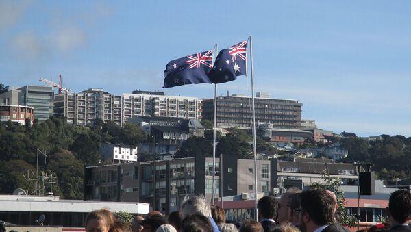 New Zealand and Australia Flags - Sputnik International