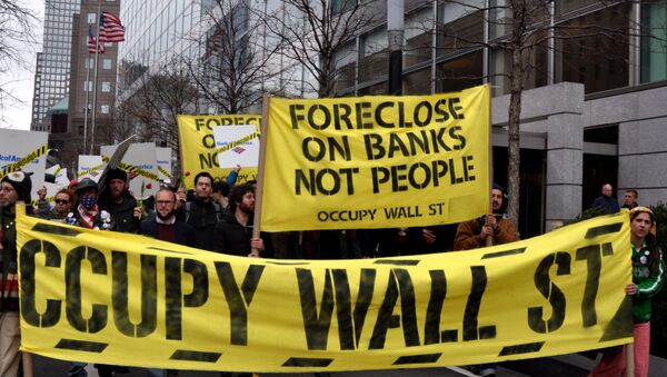 Occupy Wall Street March 16, 2012 - Sputnik International