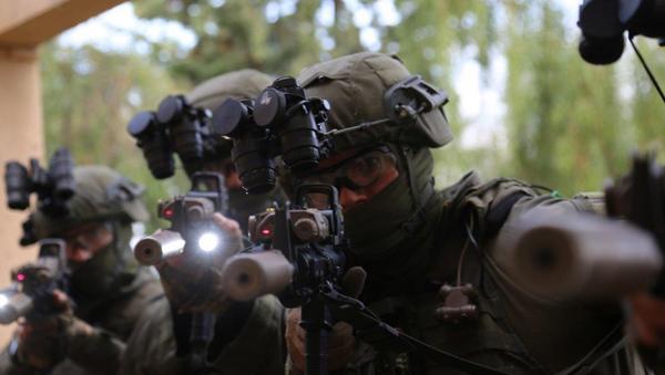 IDF Depth Corps personnel during training in Crete. - Sputnik International