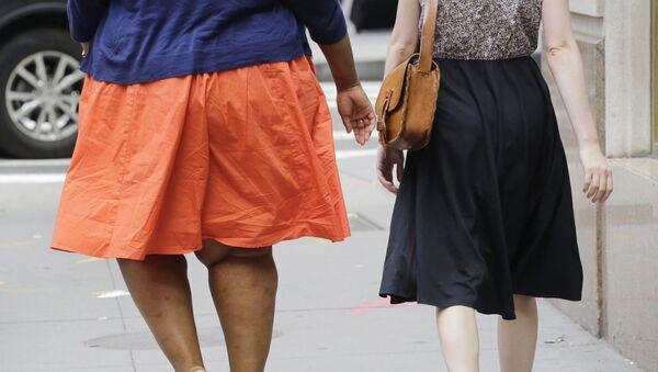 An obese woman - Sputnik International