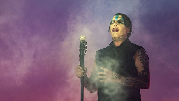 Marilyn Manson performs during Louder Than Life at Highland Festival Grounds at KY Expo Center on Sunday, Sept. 29, 2019, in Louisville, Ky. - Sputnik International