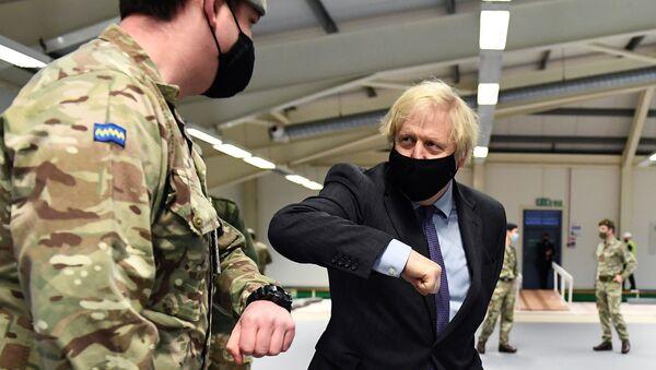 British PM Boris Johnson visits Scotland - Sputnik International