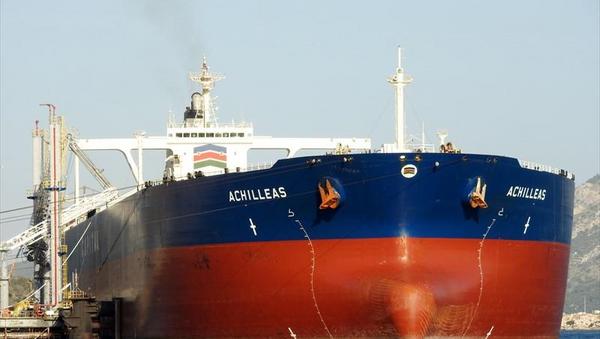 The Achilleas, a Liberian-flagged Greek-owned crude oil tanker. - Sputnik International