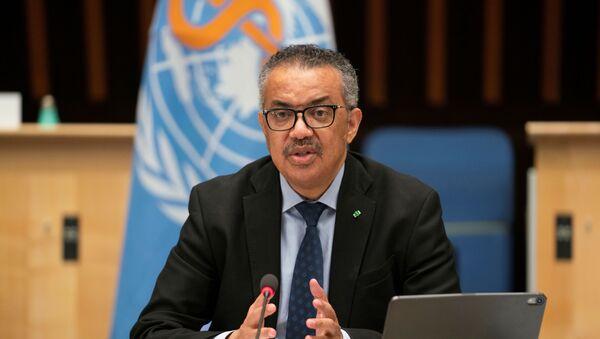 Tedros Adhanom Ghebreyesus, Director General of the World Health Organization (WHO) - Sputnik International