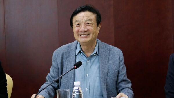 Huawei chief executive and founder Ren Zhengfei - Sputnik International