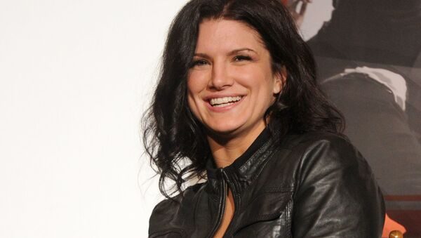 Actress Gina Carano attends the AFI FEST 2011, held at Grauman's Chinese Theatre on 6 November 2011 in Hollywood, California.  - Sputnik International