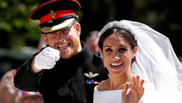 FILE PHOTO: Prince Harry, Queen Elizabeth's grandson, marries U.S. actress Meghan Markle in Windsor - Sputnik International