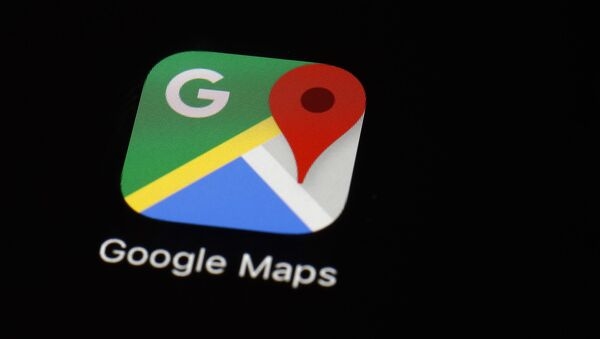 This March 19, 2018 photo shows the Google Maps app on an iPad in Baltimore.  - Sputnik International