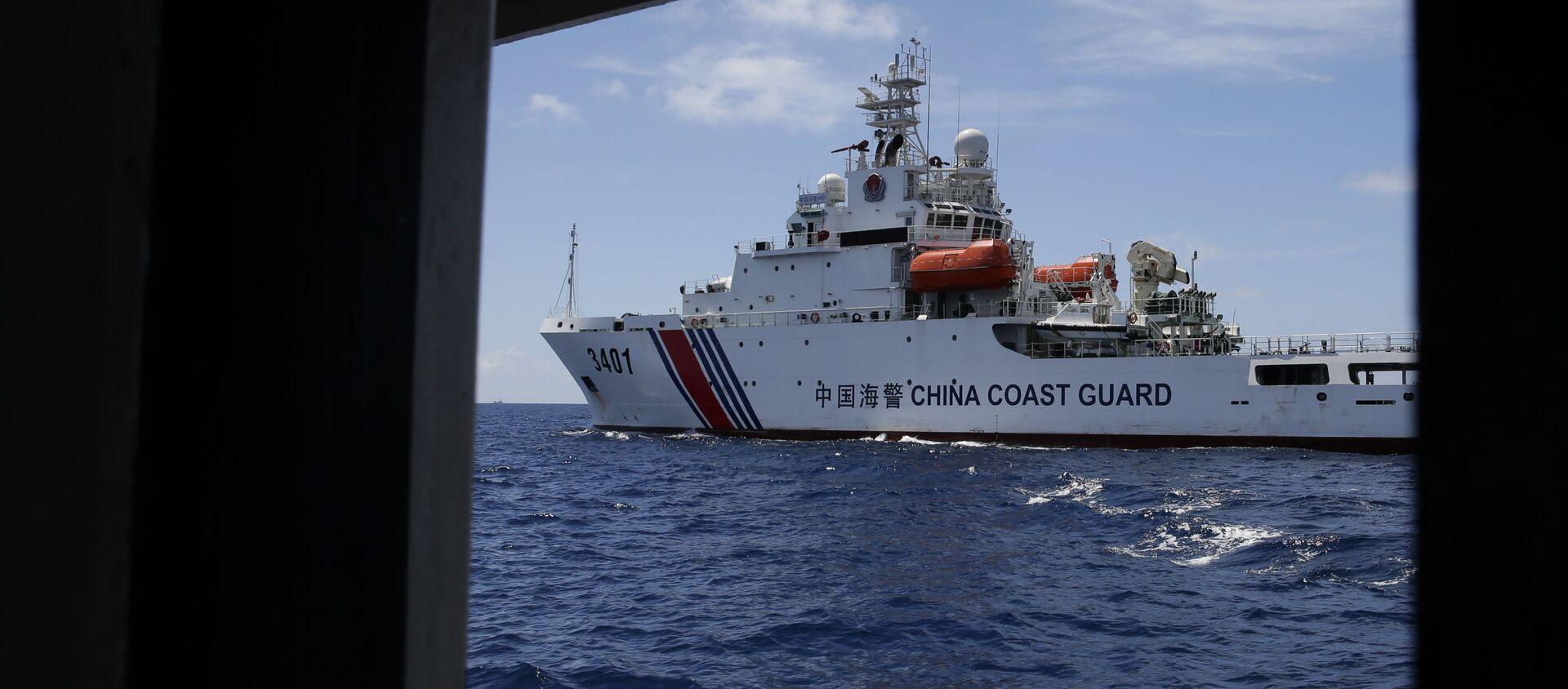 Chinese Coast Guard ship (File) - Sputnik International, 1920, 12.07.2021