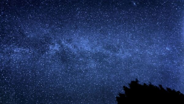 The Milky Way with the Andromeda Galaxy visible to the upper right hand side. - Sputnik International