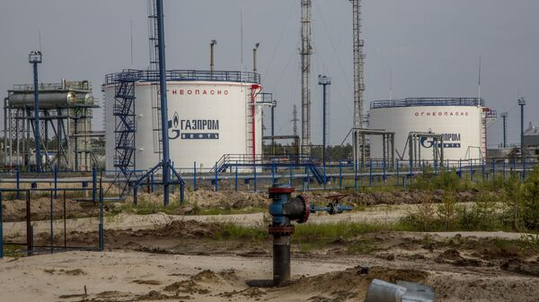 In this photo taken on Thursday, July 14, 2016, Gazprom oil producing facility situated in the Yamal region, Russia - Sputnik International