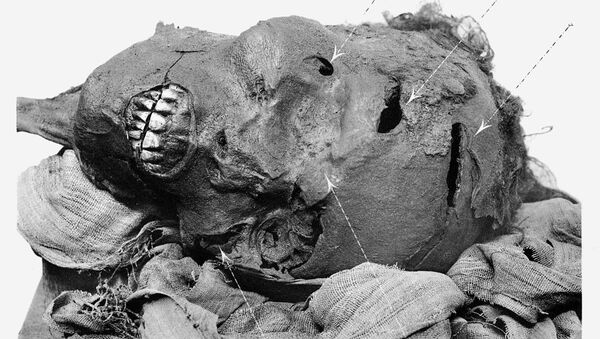 Mummy of Pharaoh Seqenenre Tao - Sputnik International