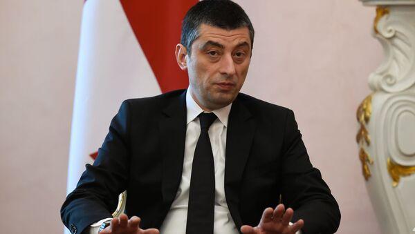 Georgian Prime Minister Giorgi Gakharia - Sputnik International