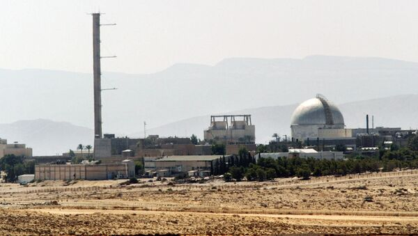 Partial view of the Dimona nuclear power plant in the southern Israeli Negev desert taken 08 September 2002 - Sputnik International
