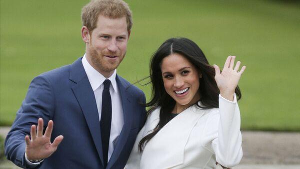 Britain's Prince Harry and Meghan, Duchess of Sussex (File) - Sputnik International