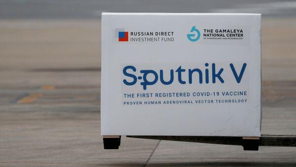 A shipment of doses of the Sputnik V (Gam-COVID-Vac) vaccine against the coronavirus disease (COVID-19)  - Sputnik International