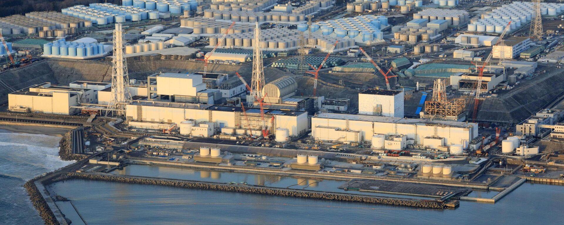 Fukushima Daiichi nuclear power plant in Okuma town - Sputnik International, 1920, 15.04.2021