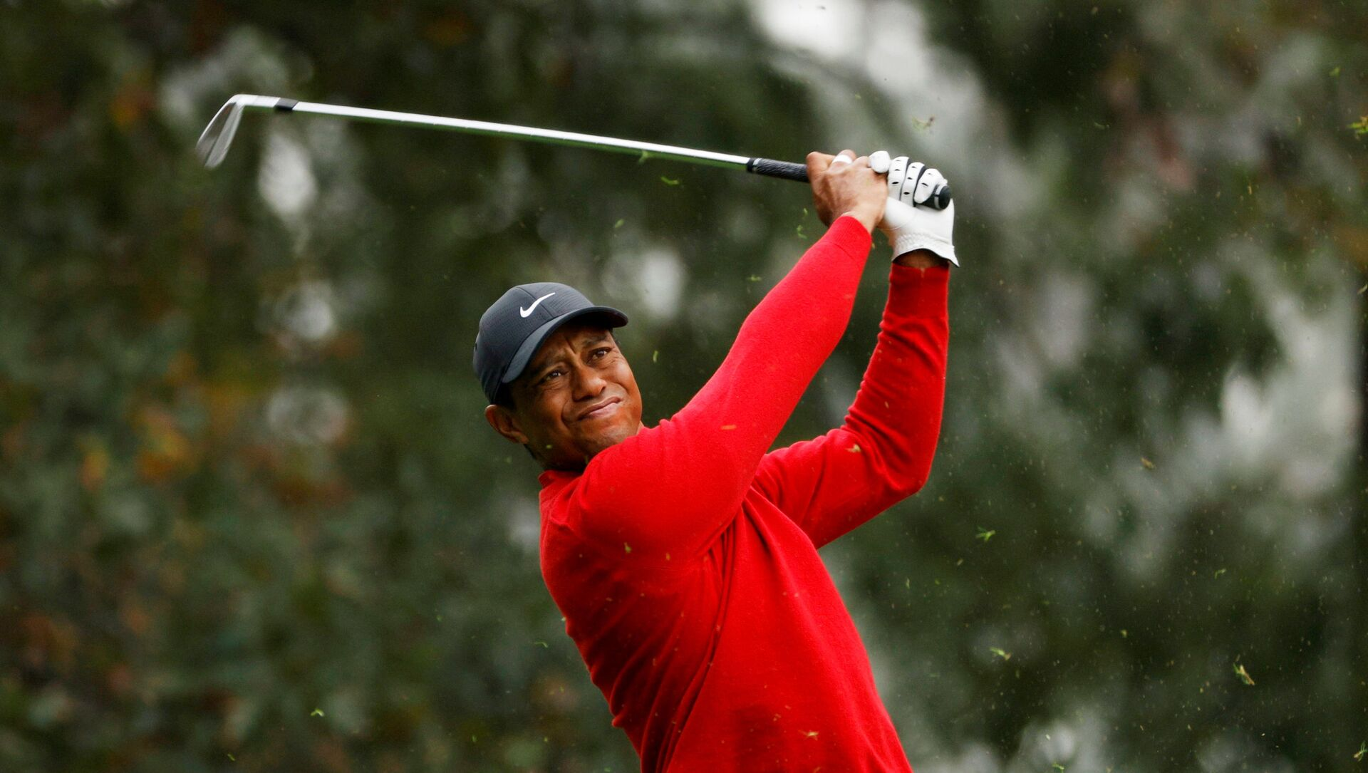 FILE PHOTO: Golf - The Masters - Augusta National Golf Club - Augusta, Georgia, U.S. - November 15, 2020 Tiger Woods of the U.S. on the 4th hole during the final round REUTERS/Mike Segar/File Photo - Sputnik International, 1920, 24.02.2021