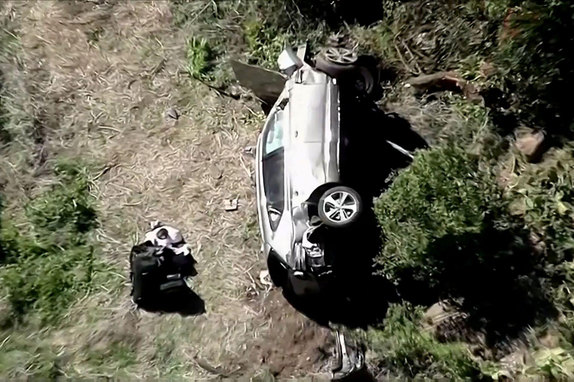Tiger Woods Car Crash: A Recap of the Golf Legend's Ups and Downs - Sputnik International, 1920, 24.02.2021