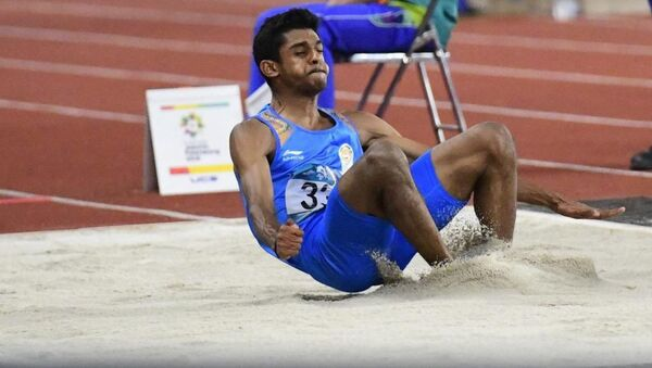 Long jumper Sreeshankar - Sputnik International