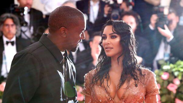 Metropolitan Museum of Art Costume Institute Gala Notes on Fashion- Arrivals - New York City, U.S. – May 6, 2019 - Kim Kardashian and Kanye West - Sputnik International