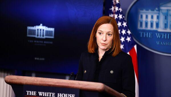 White House Press Secretary Jen Psaki delivers remarks during a press briefing at the White House in Washington, U.S., February 11, 2021 - Sputnik International