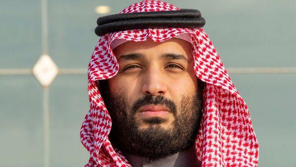 Saudi Arabia's Crown Prince Mohammed bin Salman attends a graduation ceremony for the 95th batch of cadets from the King Faisal Air Academy in Riyadh, Saudi Arabia December 23, 2018. - Sputnik International