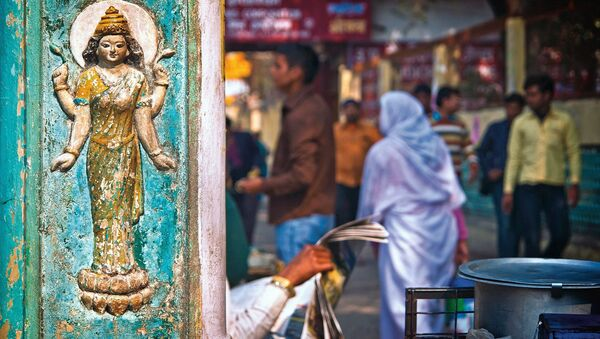 A street view in one of the cities in India - Sputnik International