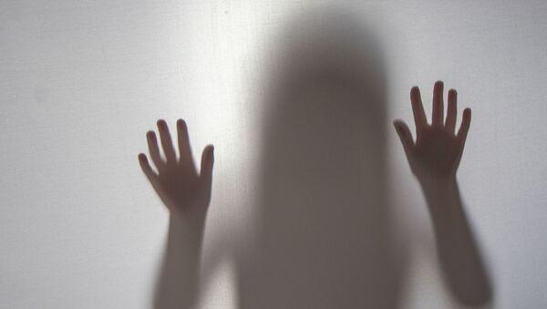 Shadow Silhouette Girl - Sputnik International
