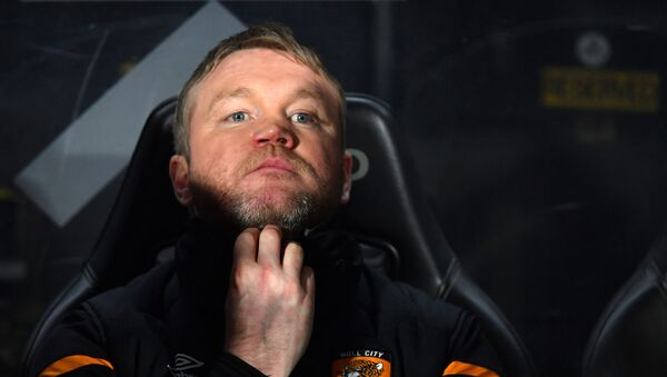 Hull City's Northern Irish head coach Grant McCann looks on ahead of the English FA Cup fourth round football match between Hull City and Chelsea at the KCOM Stadium in Kingston upon Hull, north east England on January 25, 2020. - Sputnik International