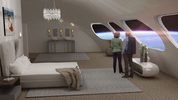 A Room With One Hell of a View: Unearthly Experience of Staying at Voyager Station Space Hotel - Sputnik International