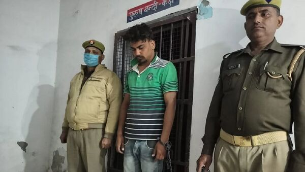 The incident took place in Nauzarpur village under Sasni police station jurisdiction of the district on Monday - Sputnik International