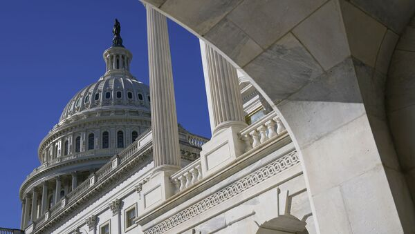 Sun shines on the U.S. Capitol dome, Tuesday, March 2, 2021, in Washington. - Sputnik International