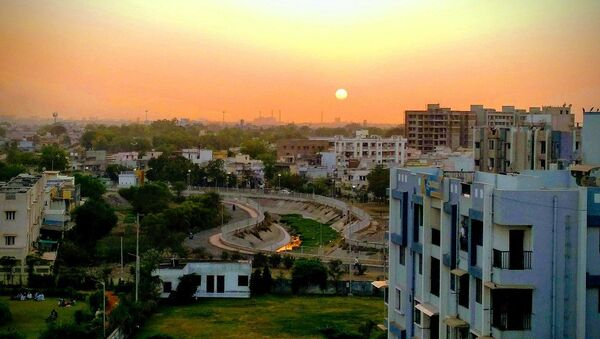 Sunset in Ahmedabad - Sputnik International