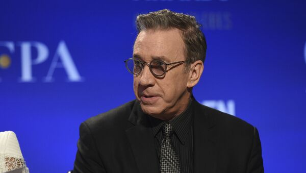 Tim Allen announces nominations for the 77th annual Golden Globe Awards at the Beverly Hilton Hotel on Monday, Dec. 9, 2019, in Beverly Hills, Calif. - Sputnik International