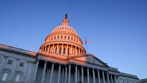 The sun rises on the U.S. Capitol dome before Joe Biden's presidential inauguration in Washington, U.S., January 20, 2021.  - Sputnik International