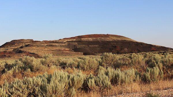 Black Rock Desert volcanic field, near Flowell, Utah - Sputnik International